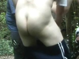 Public Cumhole: two Strangers Unload Raw