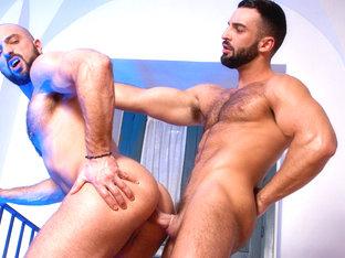 Abraham Al Malek & Bruno Boni in The Tourist Video