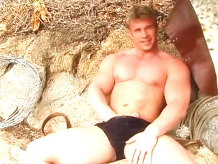 Mark Dalton Plays With Himself Outside and Nude