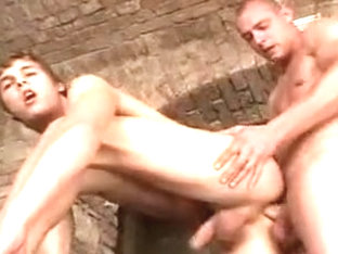 Crazy male in horny homosexual adult scene