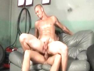 Incredible male in best big dick, hunks homo sex movie