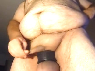 Cumming on Balls standing