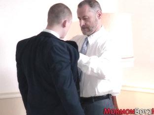 Gay bishop strokes mormon