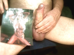 Tribute for - cum all over her sexy body