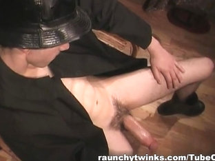 RaunchyTwinks Video: Young stud flashes his cock