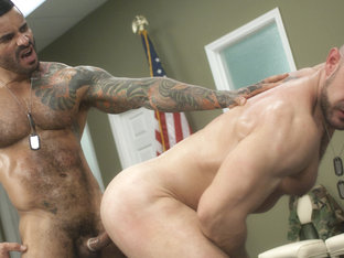 Alexsander Freitas & Craig Reynolds in Major Asshole Scene