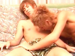 Fabulous Asian homo boys in Horny masturbation, handjob JAV clip