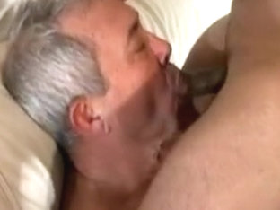 Old man fucked by stud