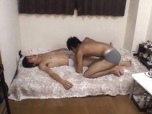 Horny Asian homo guys in Hottest rimming, twinks JAV clip