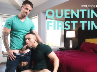 Dante Martin & Quentin Gainz in Quentin's First Time - NextdoorWorld