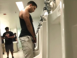 college gym piss