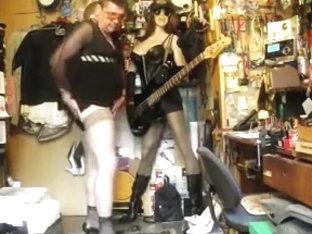 Alladino in Stockings Viboye e Hells Black by MUSIC