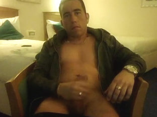 Hotel room wank