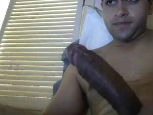 Alluring BF is beating off at home and memorializing himself on webcam