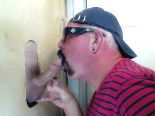 Married Latino Gets Gloryhole Dick Sucking - GloryholeHookups