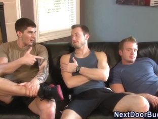 Buff amateur cum covered