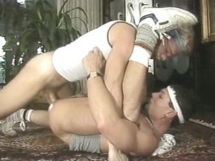 Incredible amateur gay scene with Blowjob, Rimming scenes