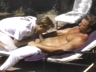 Two Gay Guys Fucking On A Lounge Chair