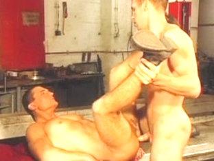 Best male pornstar in crazy blowjob, masturbation homo sex movie