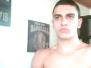 Bulgarian handsome boy big hairy ass nice cock on cam