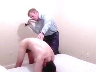 Exotic male in fabulous father and son, fetish gay sex movie