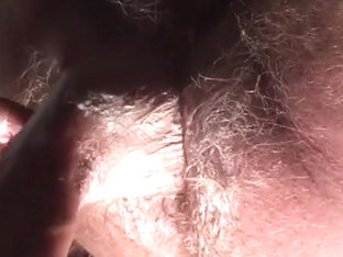 Opening a Hairy Blond Hole