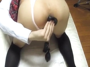 Japanese cd Anal pump insertion !
