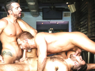 Dirk Caber & Jackson Grant & Jimmy Durano in Heartbreakers Part 2 - DrillMyHole