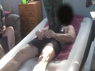 Chest and Cock trample with Armyboots