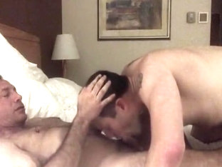 swallowing daddy's cum