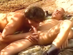 Hot men fucking in the mountains