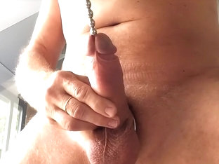 jerk off with a big load of cum