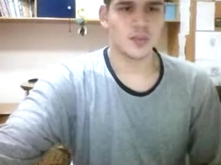 Greek Str8 Boy Is Jerking His Fat Big Cock,Hot Big Ass OnCam