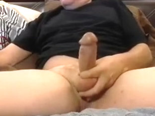 Seductive boy is playing within doors and memorializing himself on web cam