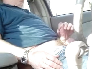 shooting a load in the car