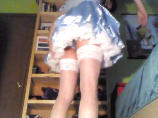 Sissy getting dressed for fun 3