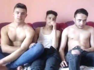 3 Romanian Boys Go Gay For Pay On Cam Dat Hairy Big Ass