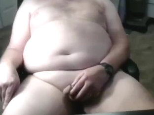 grandpa stroke on cam (no cum) 3