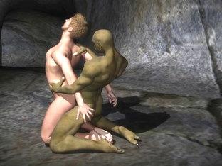 3D anime fantasie cavelust