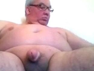 sexy grandpa stroke on cam
