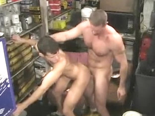 Fabulous male in amazing bareback, hunks homosexual porn clip