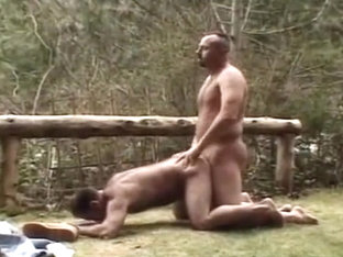 Beefy Guys In The Wood