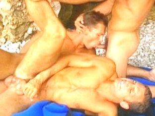 Incredible male pornstar in best group sex, masturbation homosexual xxx clip