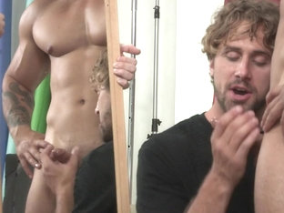 Arad Winwin & Wesley Woods & Will Braun in Hairy Tales Part 2 - DrillMyHole