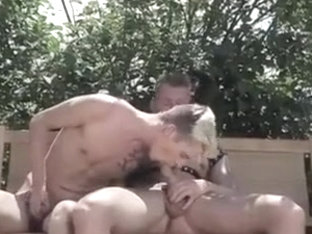 Horny Twink Fucked Outside a Country House