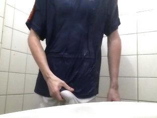 Clothes on Shower Wank Challange 10/24/2017