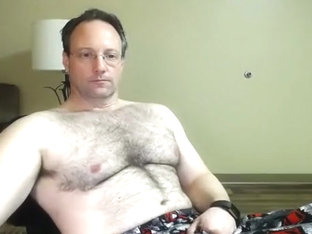 dad next door with a hairy chest on cam