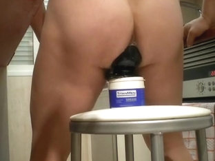 Hot amateur ass deeply penetrated