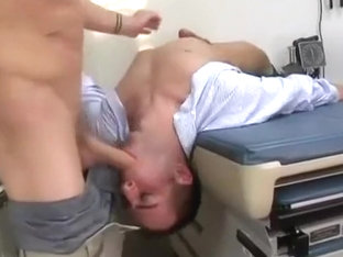 Doctor with hard cock for his ass