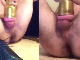 Perverted Schoolboy doubleCUMS